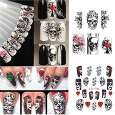 nail decoration, nail stickers, diyart, Beauty