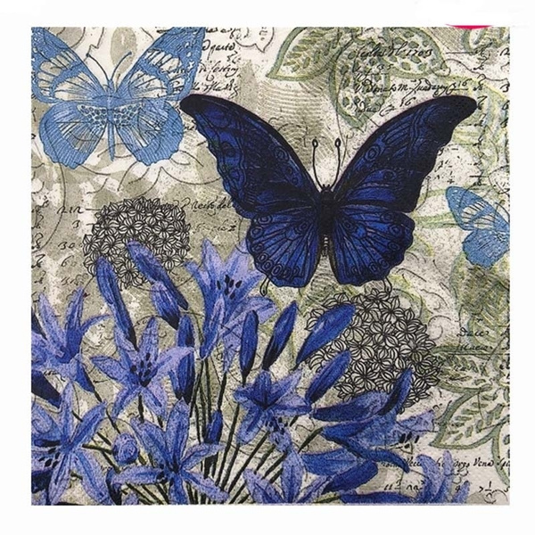butterfly, decoupage, tablemat, Craft