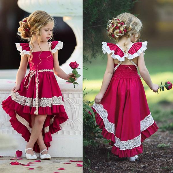 Flowers, Princess, Dresses, Dress