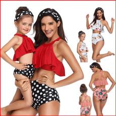 Womens Swimsuit, Family, Bikini swimwear, Girls swimsuits