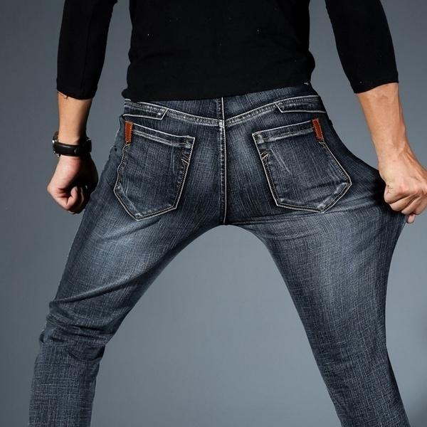 Blues, jeansformen, Plus Size, strench