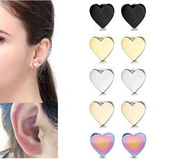 Steel, Heart, Fashion, stainless steel earrings