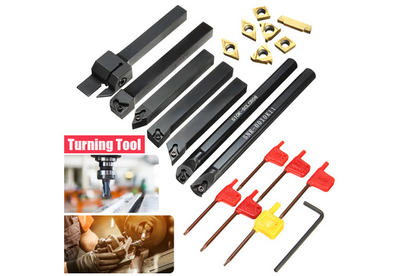 10 mm Square Shank Right 70 mm Length Steel 95/° Angle WIDIA SCLCR1010E06 SCLC S-Style Screw Clamp Toolholder for Positive Inserts
