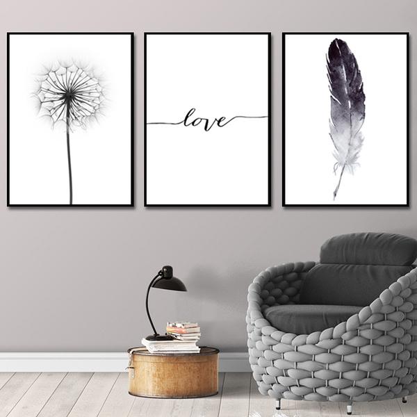 Love, Wall Art, postersampprint, dandelion