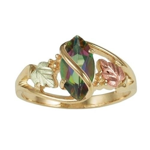 Engagement, 925 sterling silver, gold, Mystic