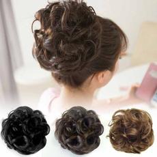 wig, hair, scrunchie, hairbun