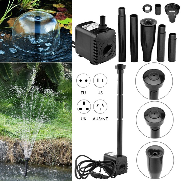 rockeryfountainwater, led, Garden, fish