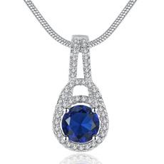 Blues, DIAMOND, Necklace, Jewelry