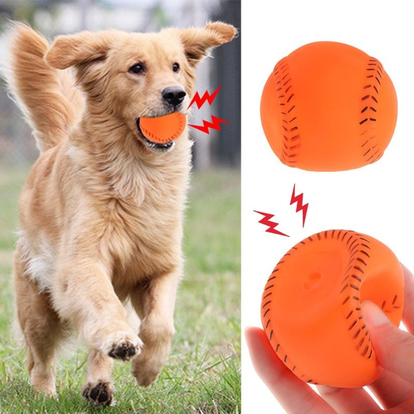 Funny, Toy, Baseball, dogrubberball