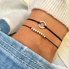black bracelet, Bohemia Bracelet, Fashion, bohemia