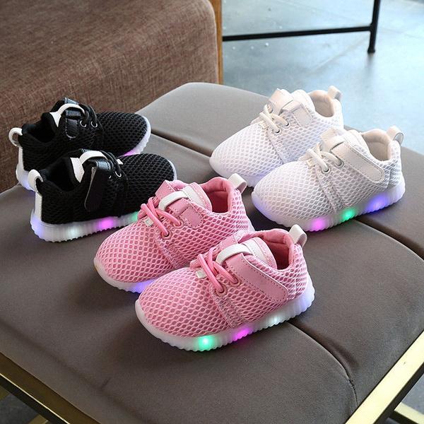 ledshoe, Sneakers, kidssportshoe, babylightshoe
