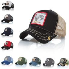 Summer, Adjustable Baseball Cap, Outdoor, animal print