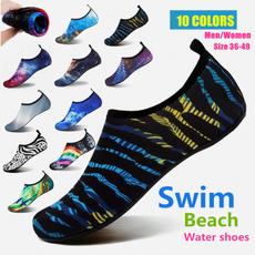 Swim, beach shoes, Surfing, barefoot