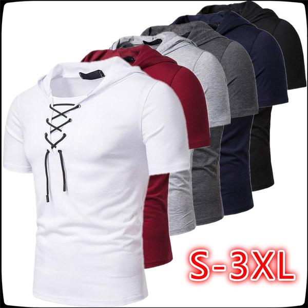 Mens T Shirt, Fashion, hooded, Shirt