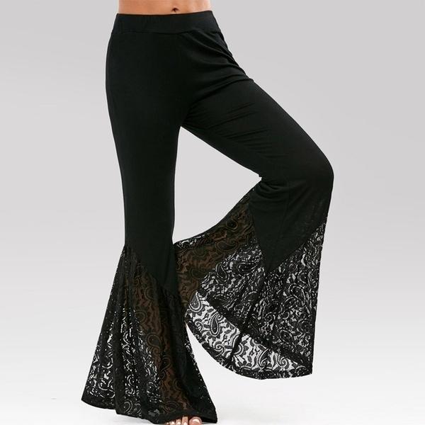Women Pants, Summer, Fashion, Lace