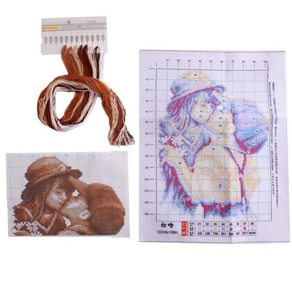 crossstitch, decoration, Wall Art, Home Decor