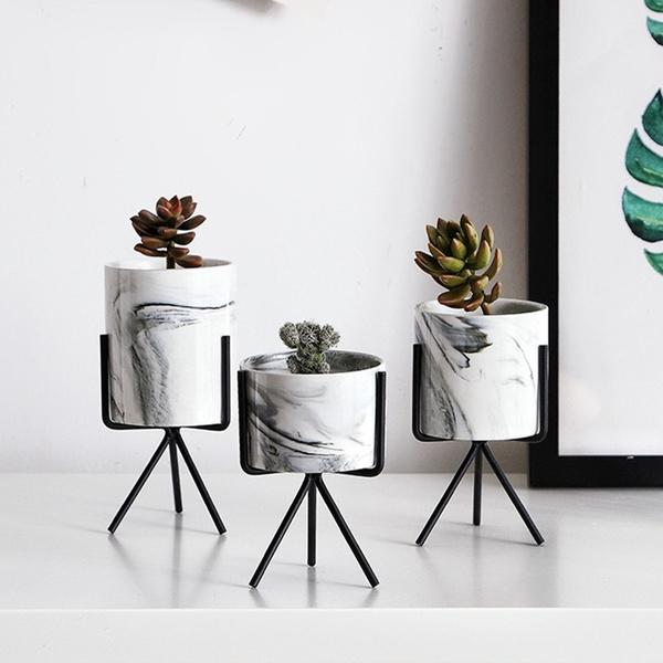golden, Plants, Ceramic, art