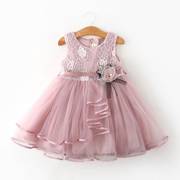 pink, summergirlsdre, girls dress, Flowers