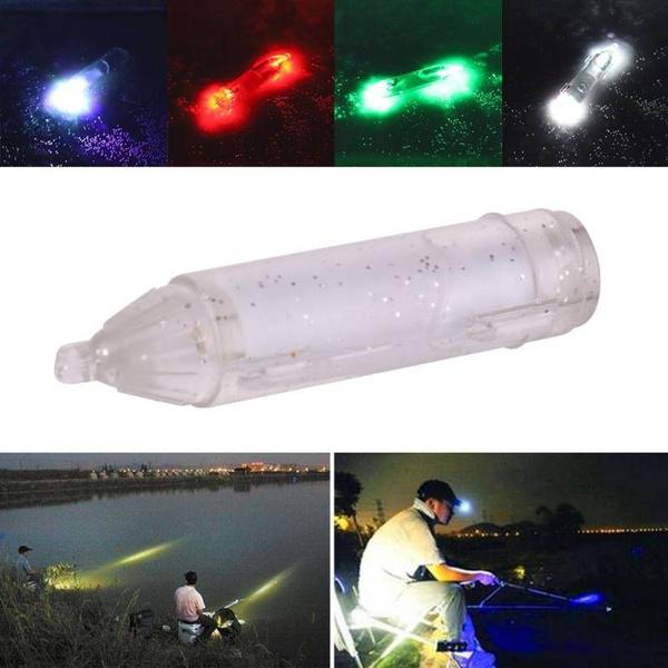 1x Mini LED Fishing Lights Night Fluorescent Glow Underwater Lights Lure Fi Z6U3