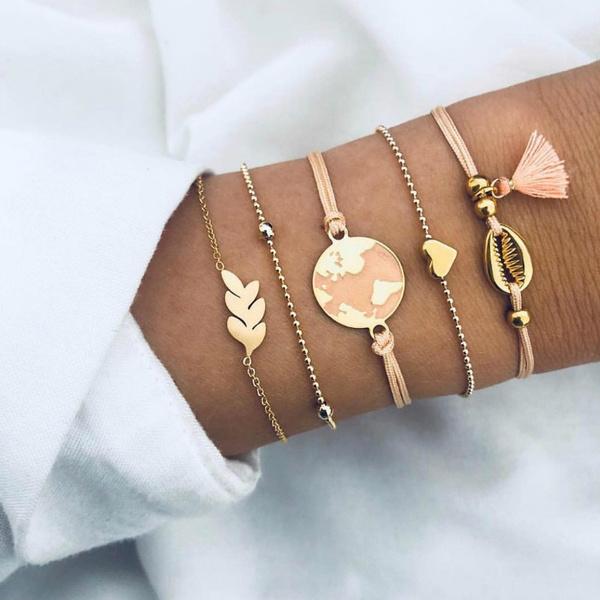 Fashion, Love, multi-layer bracelet, Bohemia Bracelet