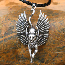 bastetnecklace, Jewelry, Egyptian, Wings