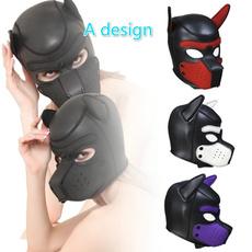 Head, bondagemask, dogheadmask, Pets