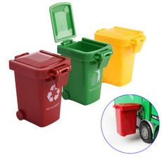Mini, Toy, trashbin, garbage