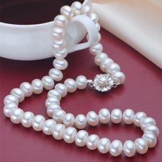 freshwaterpearlnecklace, fashionjewelryforwomen, Jewelry, jewelrypearl