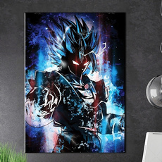 art, Home Decor, Abstract Oil Painting, Dragonball