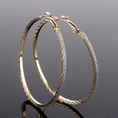 18k gold, Jewelry, friendshipgift, Simple