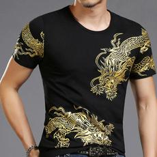 short sleeves, slim, Shirt, Sleeve