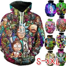 Funny, Plus Size, 3D hoodies, unisex