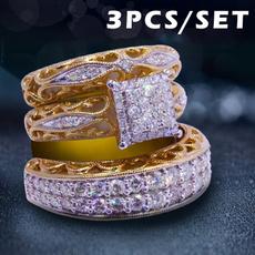 Engagement Wedding Ring Set, wedding ring, gold, Legend of Zelda