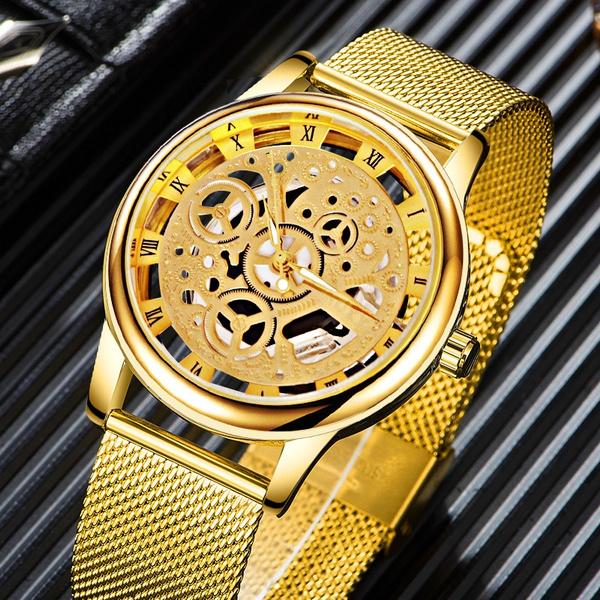 Fashion, Skeleton, fashion watches, wristwatch