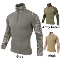 Outdoor, Long Sleeve, slimmenstshirt, Men