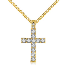 DIAMOND, Jewelry, Cross Pendant, Classics