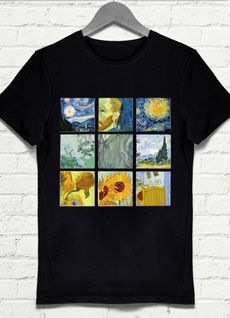 art print, Fashion, Vans, Shirt