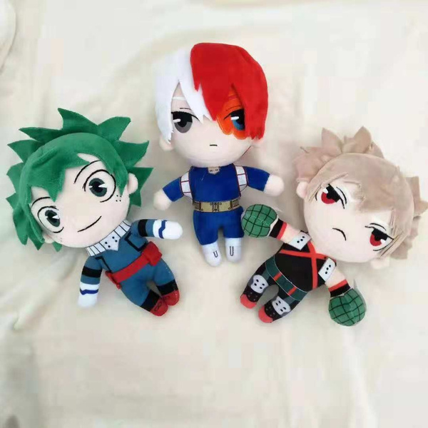 My Hero Academia Midoriya Izuku Todoroki Shoto PP Cotton Stuffed Toys Cushion
