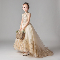 girlcostumedre, Flowers, Princess, flowergirllacedresse