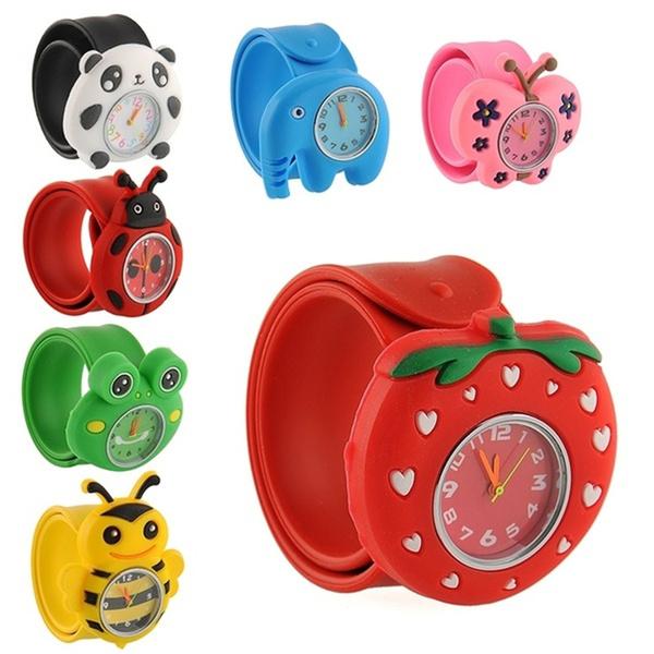 cute, quartz, silicone watch, Animal