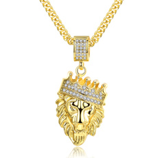 Head, hip hop jewelry, Jewelry, personalitynecklaceformen