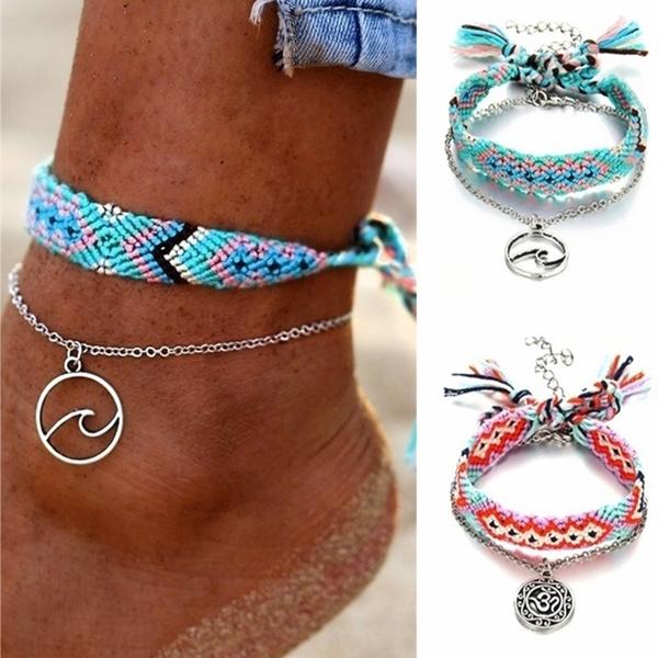 ankletsforwomen, ankletschain, Chain, ankletsset