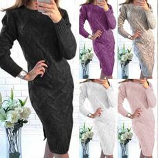 knitwear, Women Sweater, sexy dresses, Sleeve