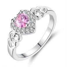 pink, Heart, Jewelry, Fashionable