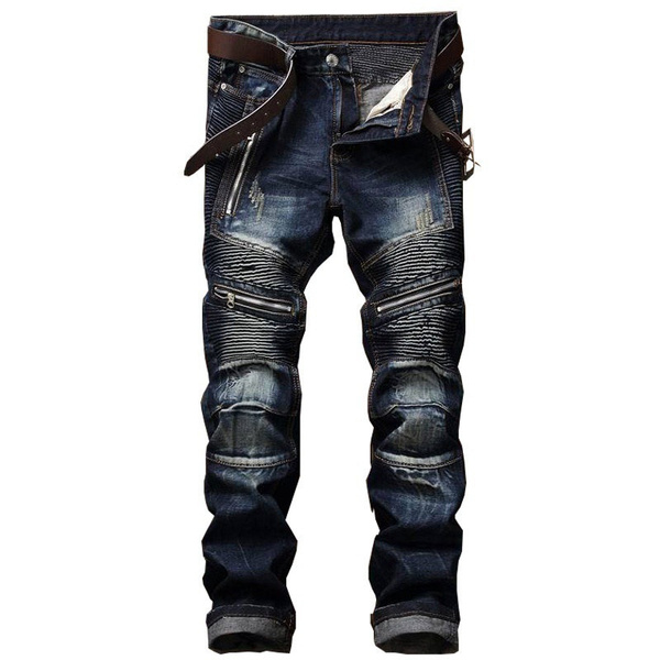 men's jeans, Loose, pants, Denim