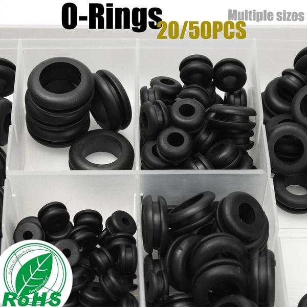 Noblik 1200PCS O-Ring Gasket kit Rubber Washer Seals Assortment Set Electrical Gasket Ring for Plumbing Washer Seal /& Auto Quick Repair