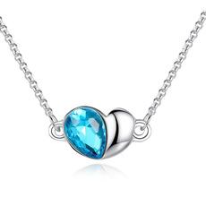 Heart, Jewelry, peach, heart necklace