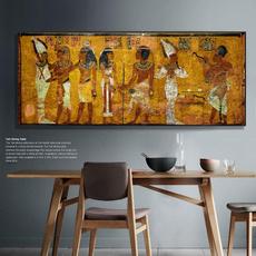 largeegyptiancanvaspainti, art, egyptcanvasprint, vintagecanvasartwork