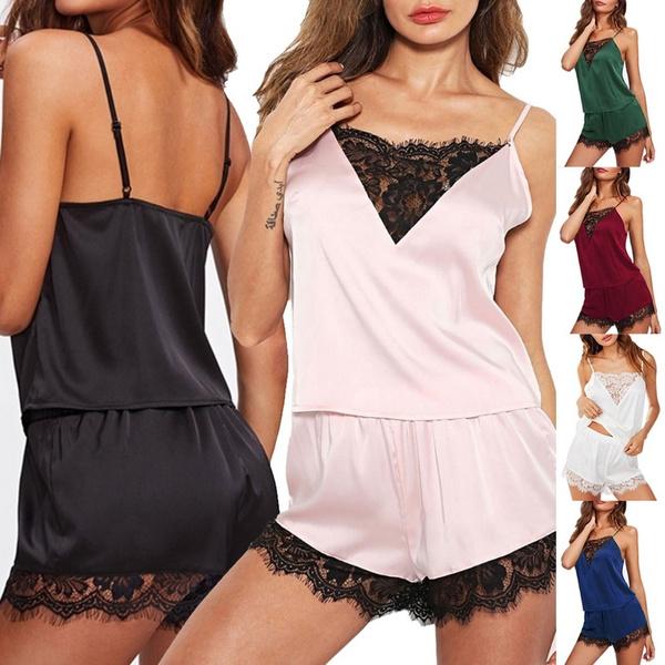 nightwear, Fashion, Lace, Tops