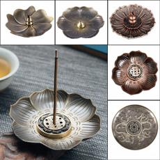 incensestand, coneincenseholder, blossom, incenseburner